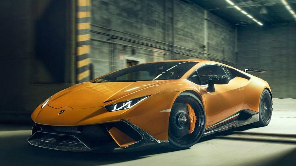 Lamborghini Huracan Performante du dan hon qua ban tay Novitec hinh anh 6