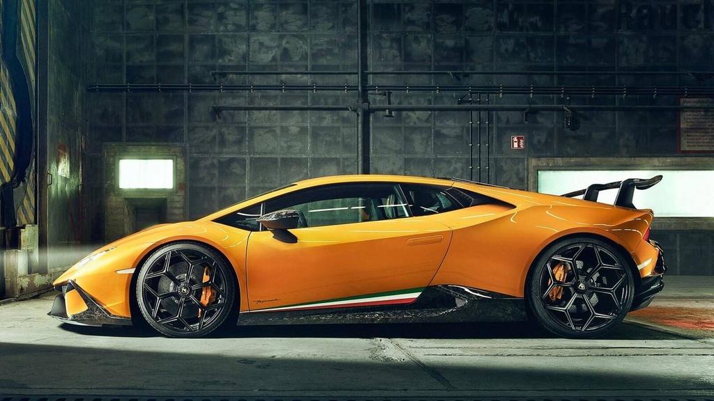 Lamborghini Huracan Performante du dan hon qua ban tay Novitec hinh anh 4