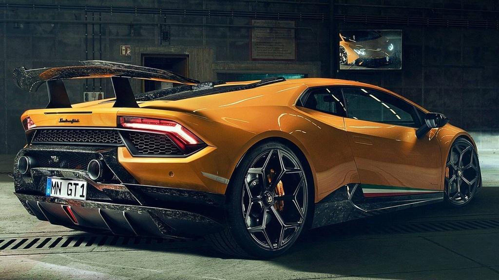 Lamborghini Huracan Performante du dan hon qua ban tay Novitec hinh anh 3
