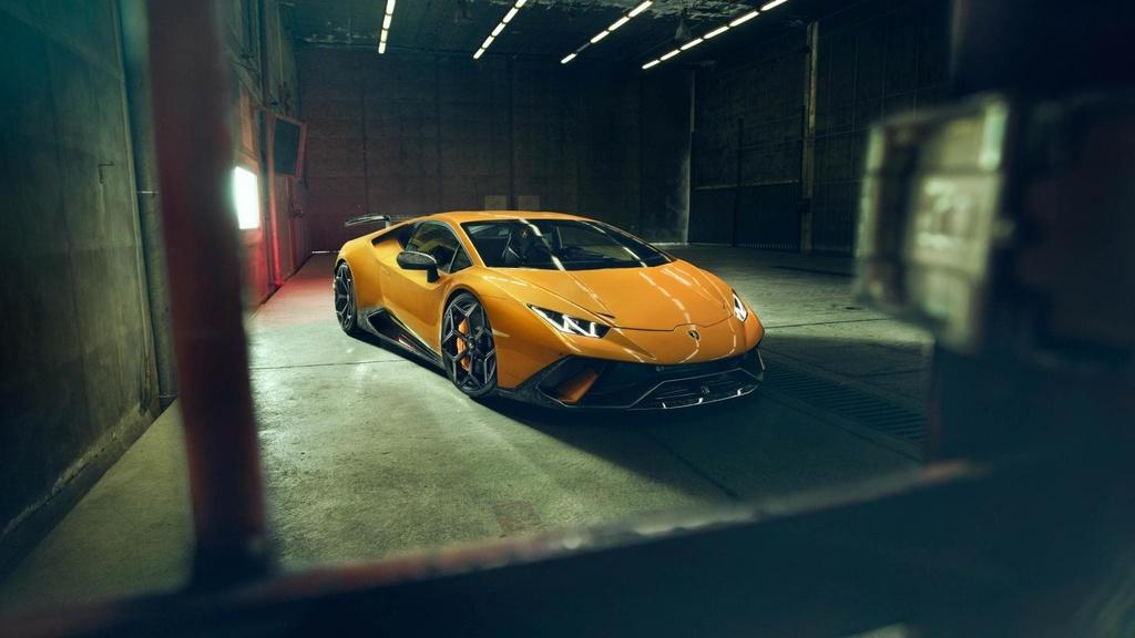 Lamborghini Huracan Performante du dan hon qua ban tay Novitec hinh anh 1