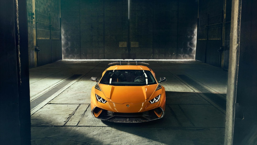 Lamborghini Huracan Performante du dan hon qua ban tay Novitec hinh anh 2