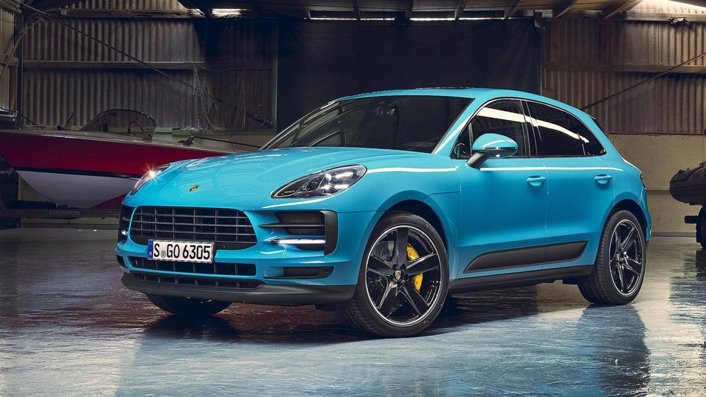 Porsche Macan 2019 ra mat, dep va hien dai hon hinh anh 1
