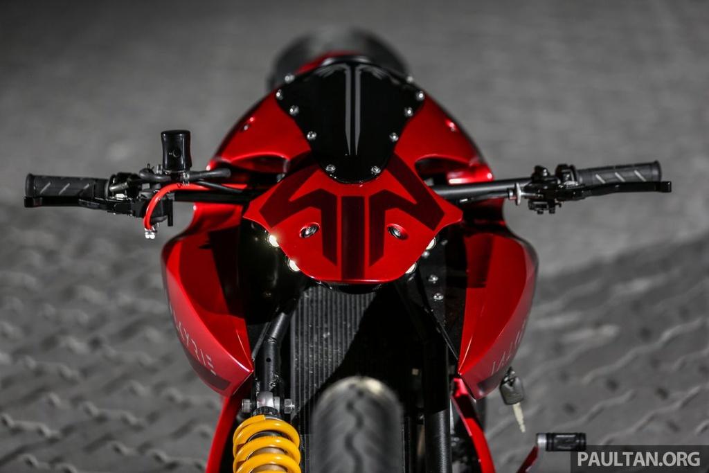 Ban do moto mang cam hung tu truyen Dragon Ball cua tho Malaysia hinh anh 4