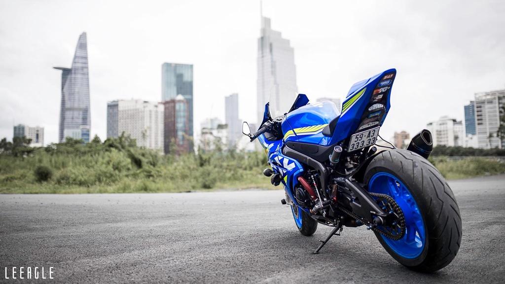 Suzuki GSX-R1000 cua biker Sai Gon voi goi do xe dua hon 500 trieu hinh anh 10