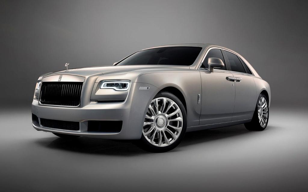 Rolls-Royce Ghost ban ky niem ra mat, chi 35 chiec tren the gioi hinh anh 1