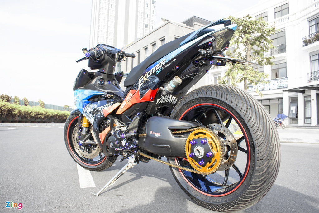 Biker Cần Thơ chi 200 triệu độ ex 150 cực khủng - 271937