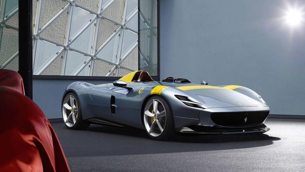 Ferrari ra mat 2 phien ban dac biet Monza SP1,  SP2 anh 2