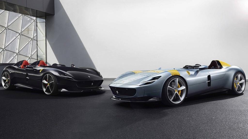 Ferrari ra mat 2 phien ban dac biet Monza SP1,  SP2 anh 1
