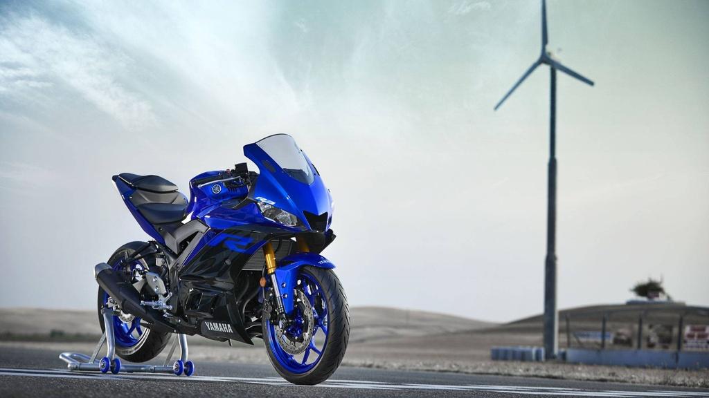 Yamaha YZF-R3 2019 so huu kieu dang moi, cai tien dong co hinh anh 11
