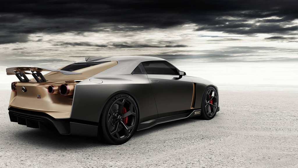 Can canh Nissan GT-R50 By Italdesign anh 2
