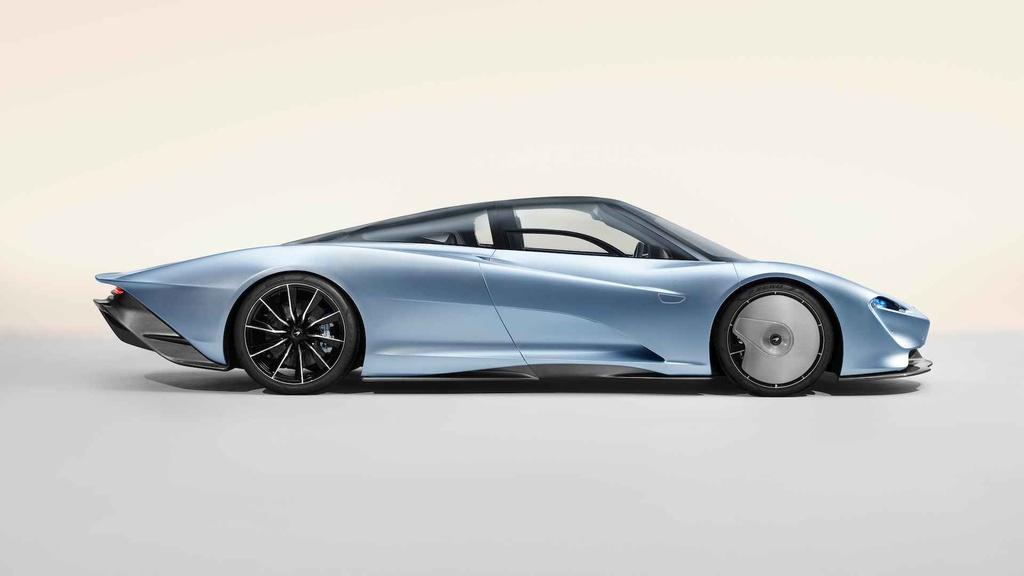 McLaren Speedtail - doi thu dang gom cua Bugatti Chiron hinh anh 2