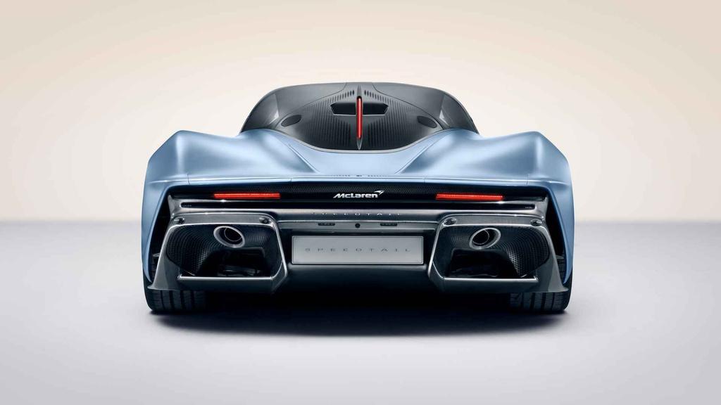McLaren Speedtail - doi thu dang gom cua Bugatti Chiron hinh anh 5