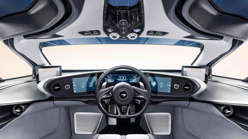McLaren Speedtail - doi thu dang gom cua Bugatti Chiron hinh anh 6