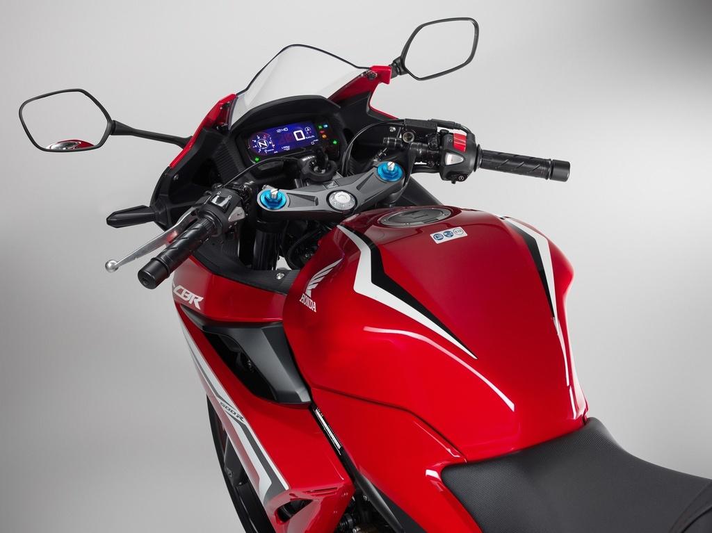 Honda CBR500R 2019 ra mat - thuan chat sportbike hon hinh anh 6