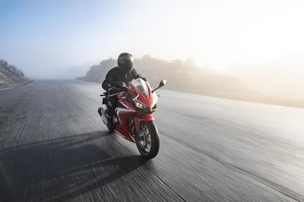Honda CBR500R 2019 ra mat - thuan chat sportbike hon hinh anh 12