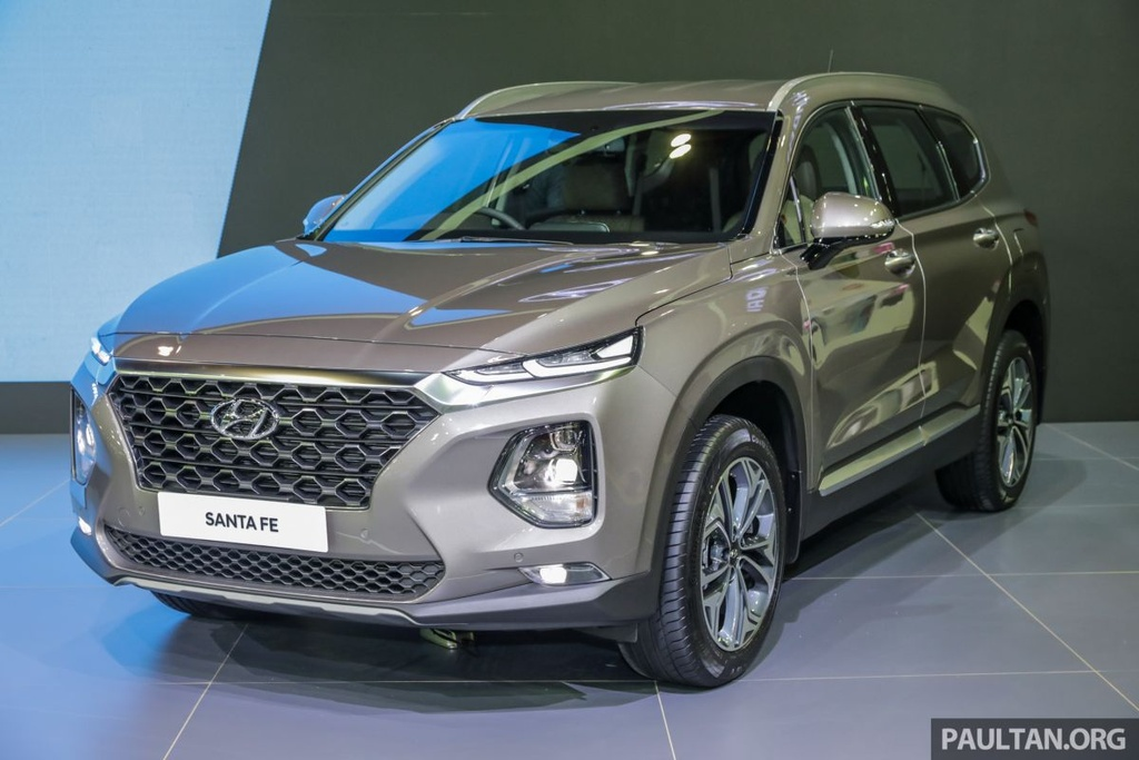Hyundai Santa Fe 2019 ve Malaysia truoc VN, gia gan 45.000 USD hinh anh 1