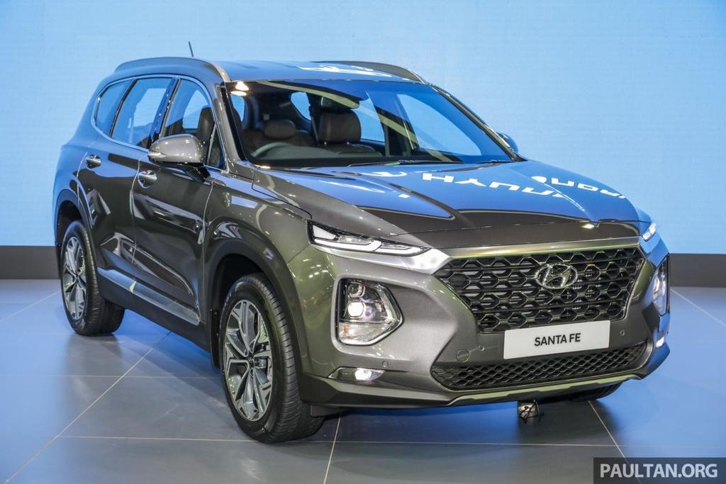 Hyundai Santa Fe 2019 ve Malaysia truoc VN, gia gan 45.000 USD hinh anh 11