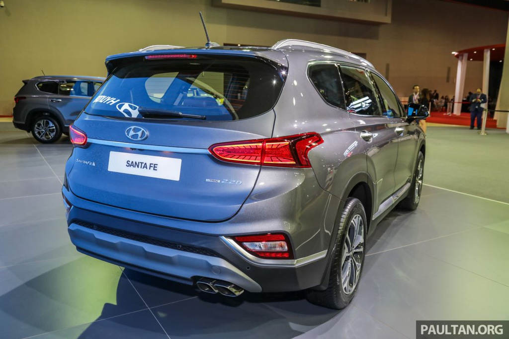 Hyundai Santa Fe 2019 ve Malaysia truoc VN, gia gan 45.000 USD hinh anh 4