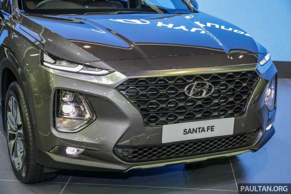 Hyundai Santa Fe 2019 ve Malaysia truoc VN, gia gan 45.000 USD hinh anh 2