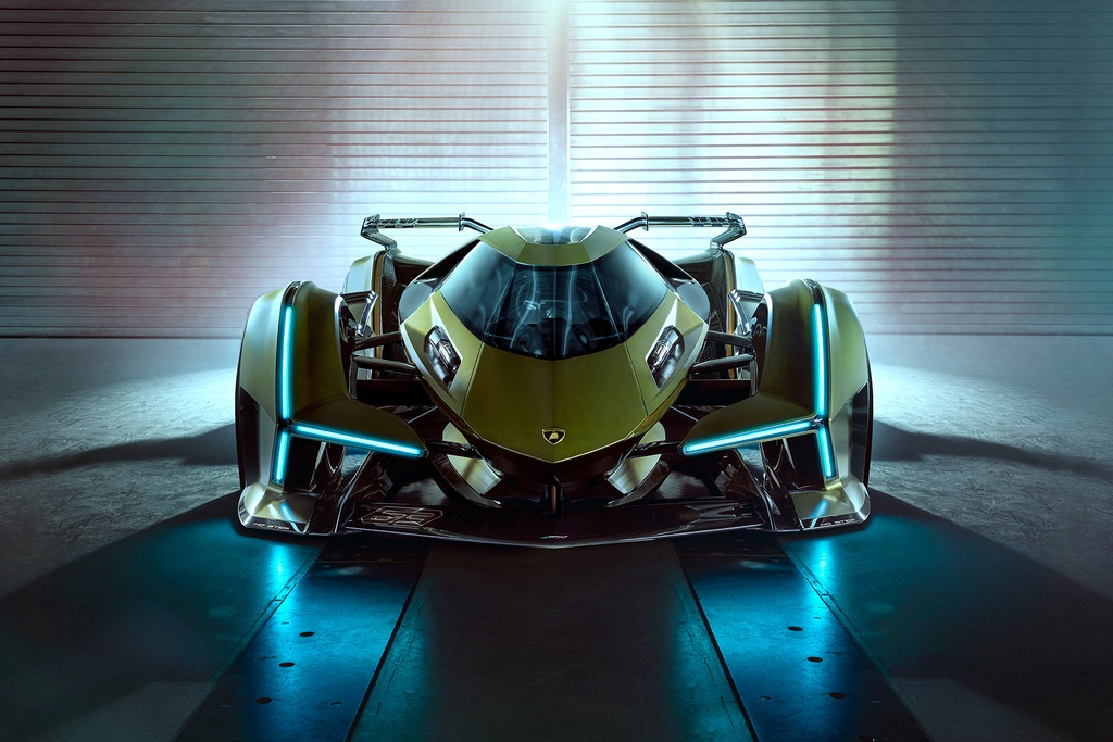 Concept xe dua Lamboghini V12 Vision GranTurismo dam chat vien tuong hinh anh 1