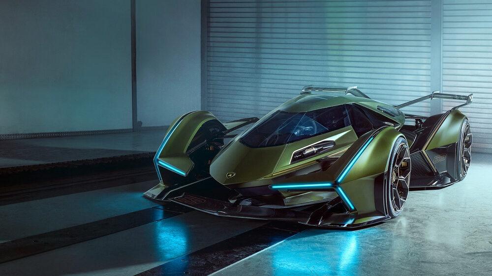 Concept xe dua Lamboghini V12 Vision GranTurismo dam chat vien tuong hinh anh 2