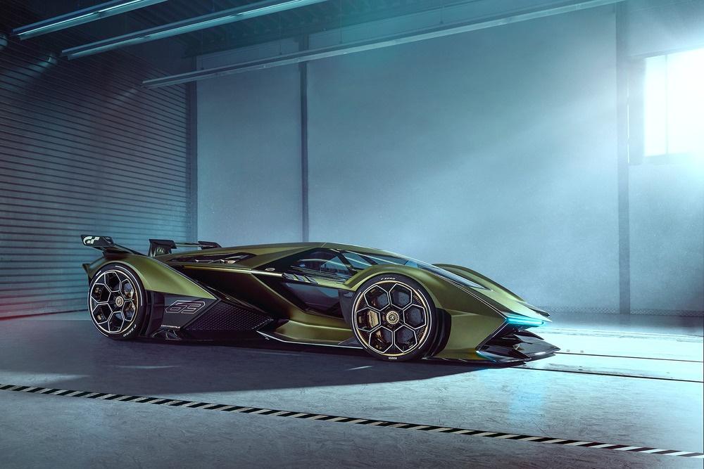 Concept xe dua Lamboghini V12 Vision GranTurismo dam chat vien tuong hinh anh 4