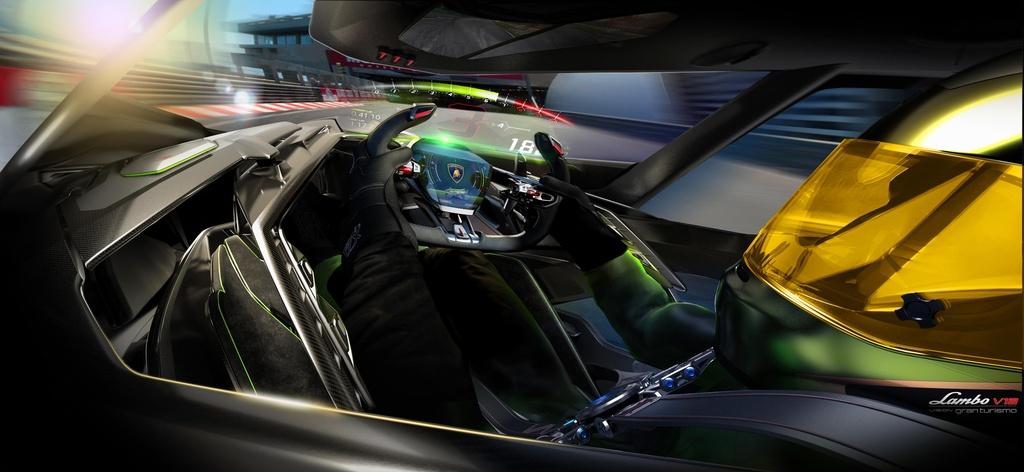 Concept xe dua Lamboghini V12 Vision GranTurismo dam chat vien tuong hinh anh 5