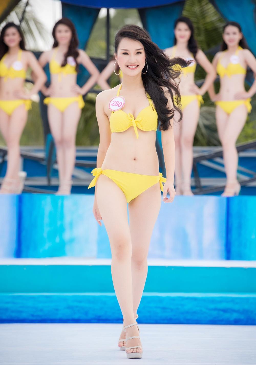 Thi sinh HHVN mac bikini thi Nguoi dep bien hinh anh 13