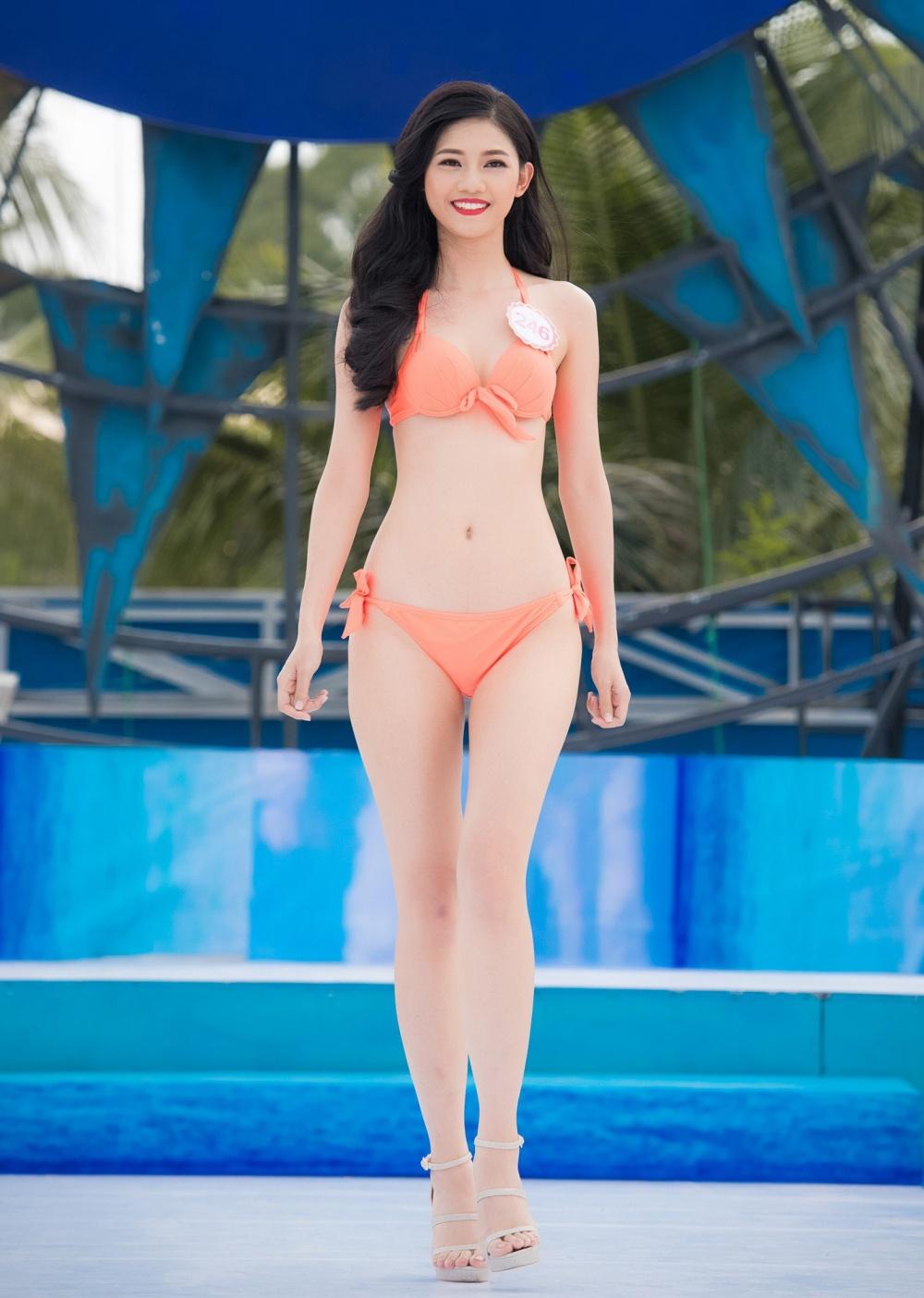 Thi sinh HHVN mac bikini thi Nguoi dep bien hinh anh 4