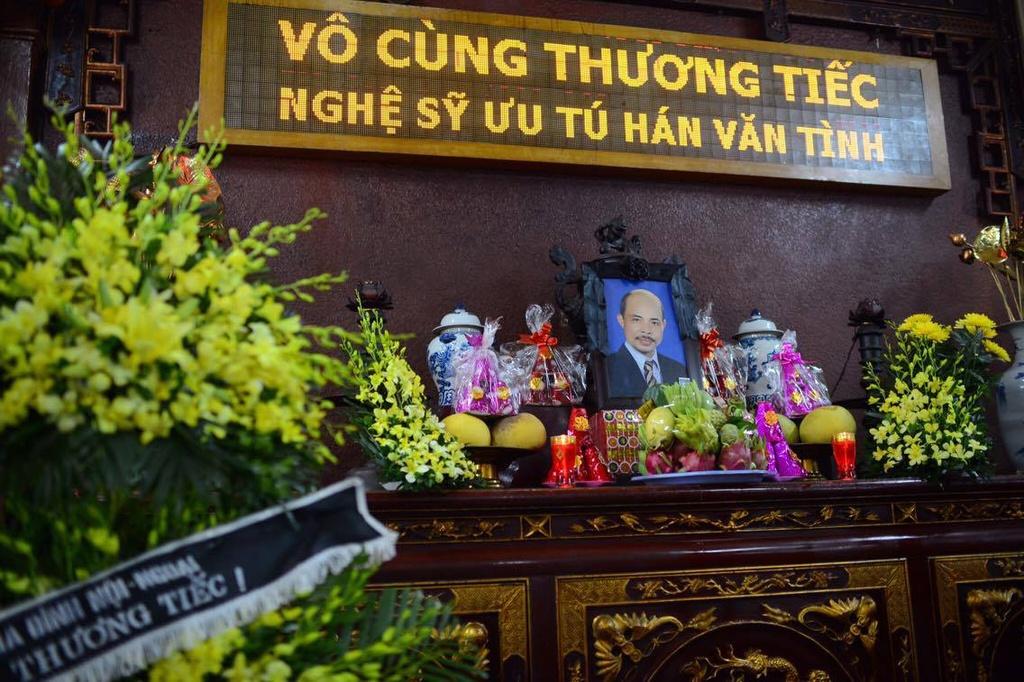 Vo con nghen ngao trong dam tang nghe si Han Van Tinh hinh anh 1