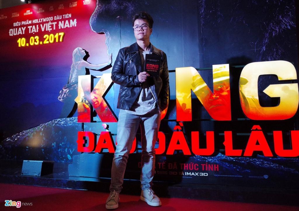 Dai su My va nghe si Viet du cong chieu 'Kong: Skull Island' o Ha Noi hinh anh 6