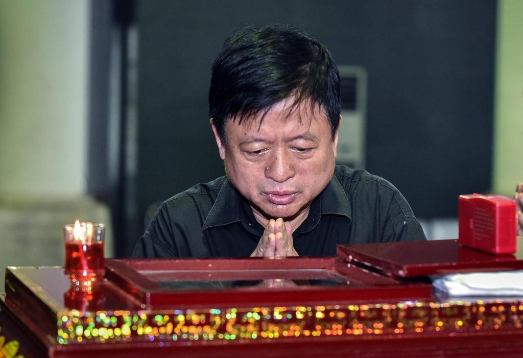 Vo 'Chi Pheo' Bui Cuong nam vien khi tang le cua chong dien ra hinh anh 3