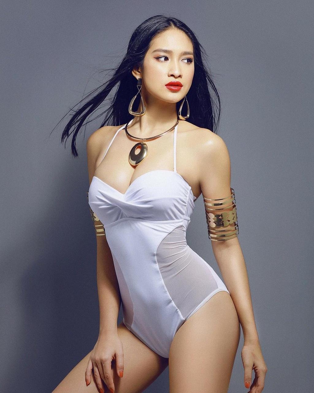 Minh Tu va nhung nguoi dep co the dang quang Hoa hau Sieu quoc gia hinh anh 2