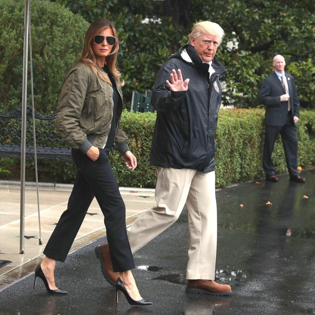 Tranh cai ve thoi trang bua vay De nhat phu nhan My Melania Trump hinh anh 9