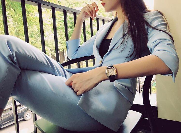 Phong cach thoi trang don gian va ca tinh cua nguoi dep Dam Thu Trang hinh anh 10