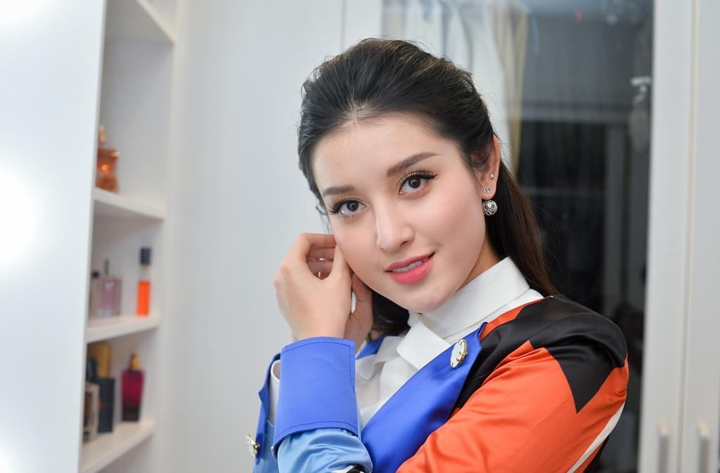 Á hậu Huyền My: