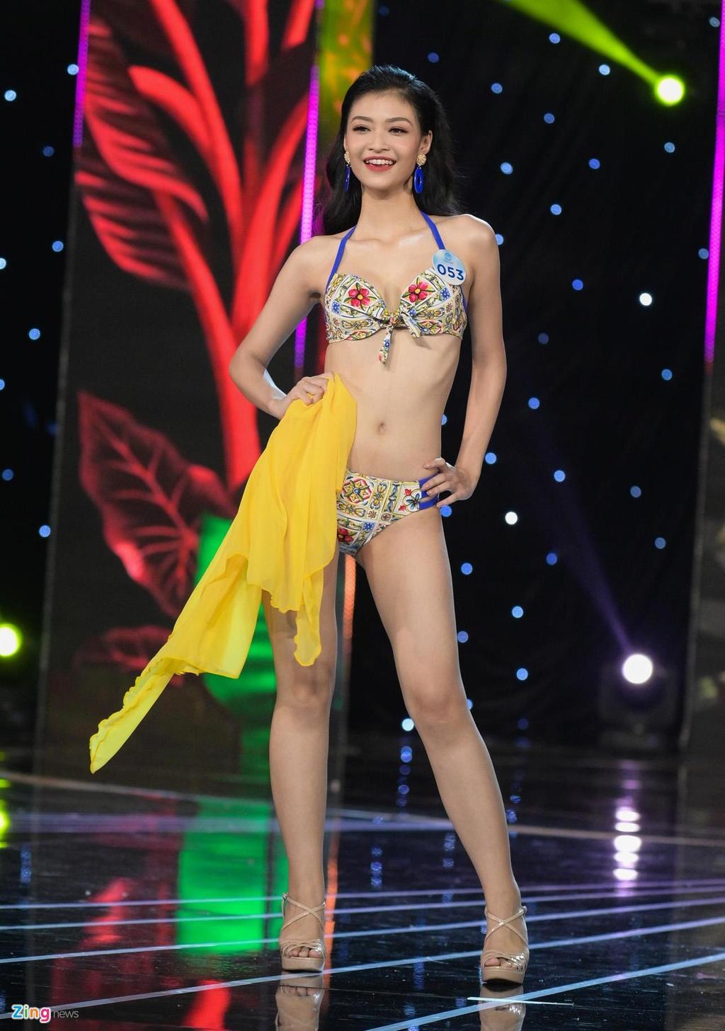 Nguoi dep Hoa hau The gioi Viet Nam 2019 khoe hinh the voi bikini hinh anh 19
