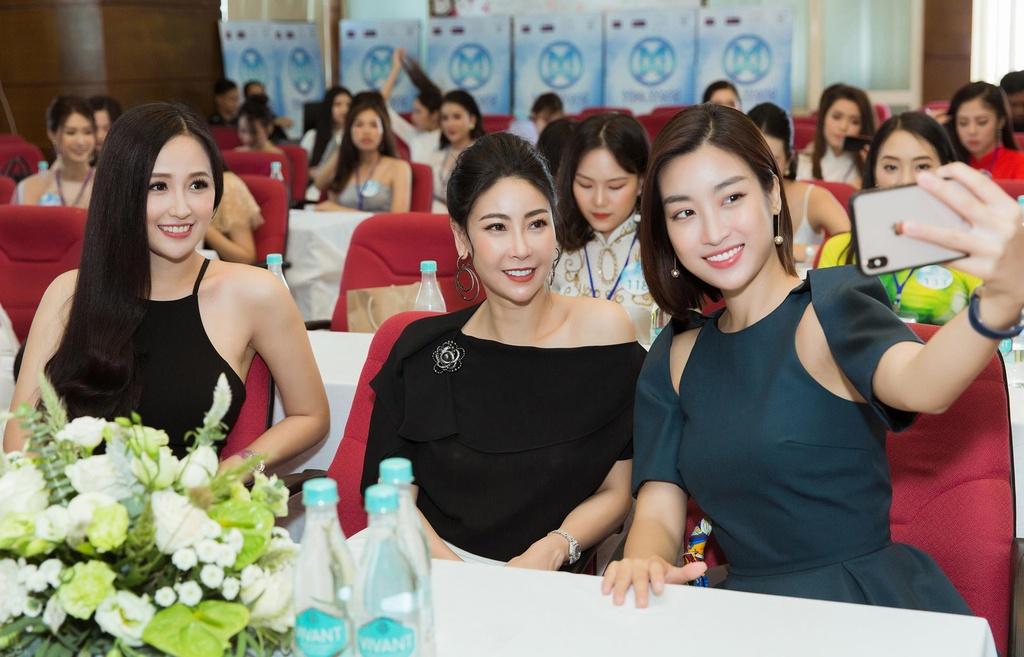 Dan thi sinh 10X du thi Hoa hau The gioi Viet Nam 2019 hinh anh 2