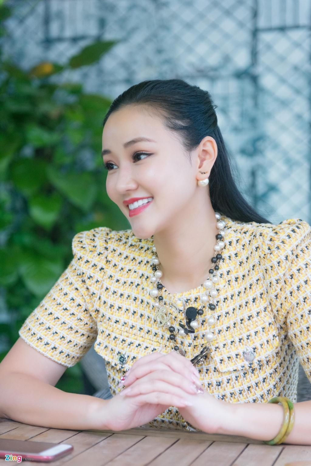 Dien vien Maya: 'Neu co canh nong tao bao hon Vo ba, toi van dong' hinh anh 3