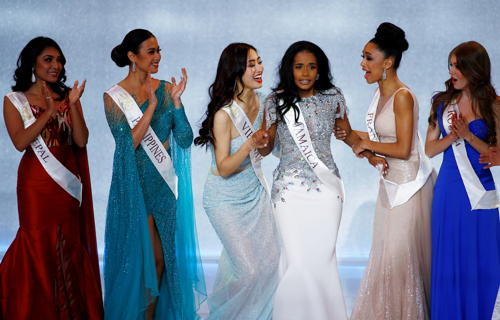 Luong Thuy Linh: 'Vo oa khi duoc goi ten vao top 12 Miss World' hinh anh 2 miss_world8.jpg