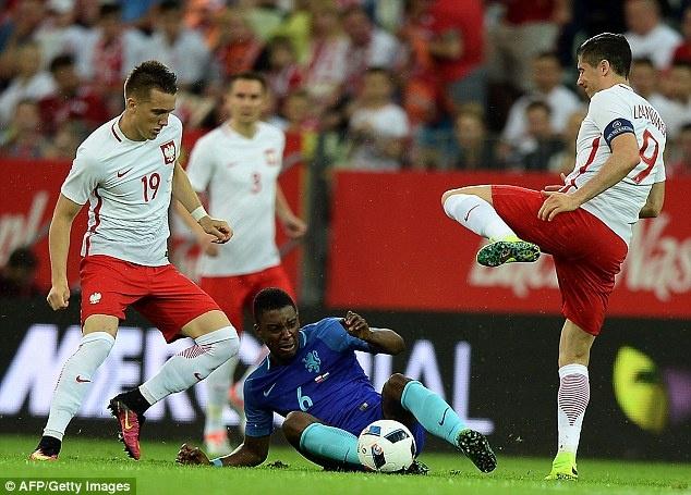 Doi tuyen cua Lewandowski thua Ha Lan 1-2 truoc EURO hinh anh 2