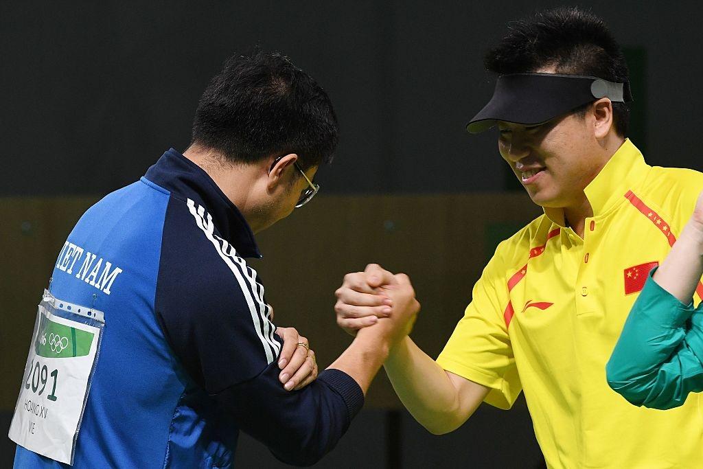 Hoang Xuan Vinh khien doi thu than phuc o Olympic 2016 hinh anh 6