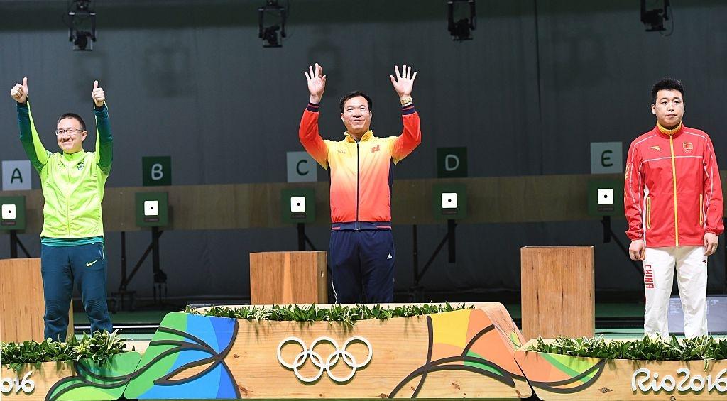 Hoang Xuan Vinh khien doi thu than phuc o Olympic 2016 hinh anh 1