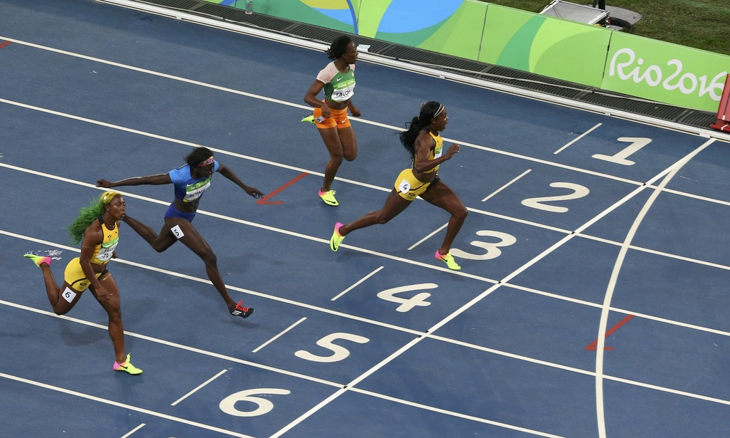 Elaine Thompson - nu hoang dien kinh moi tai Olympic hinh anh 3