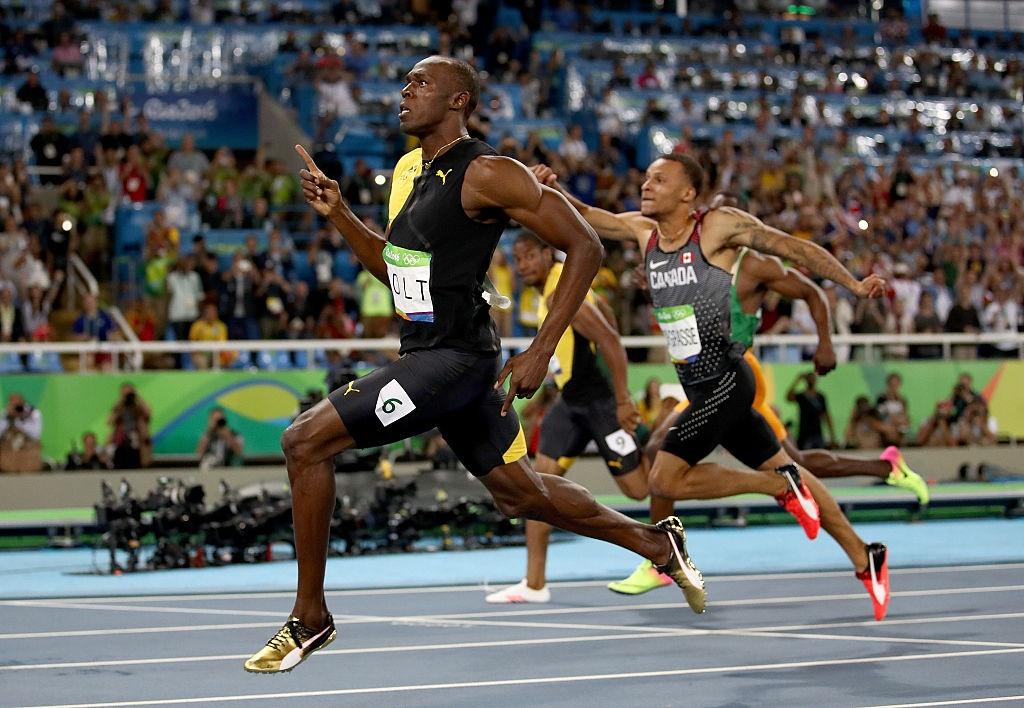 Usain Bolt hanh phuc trong vong tay CDV anh 6