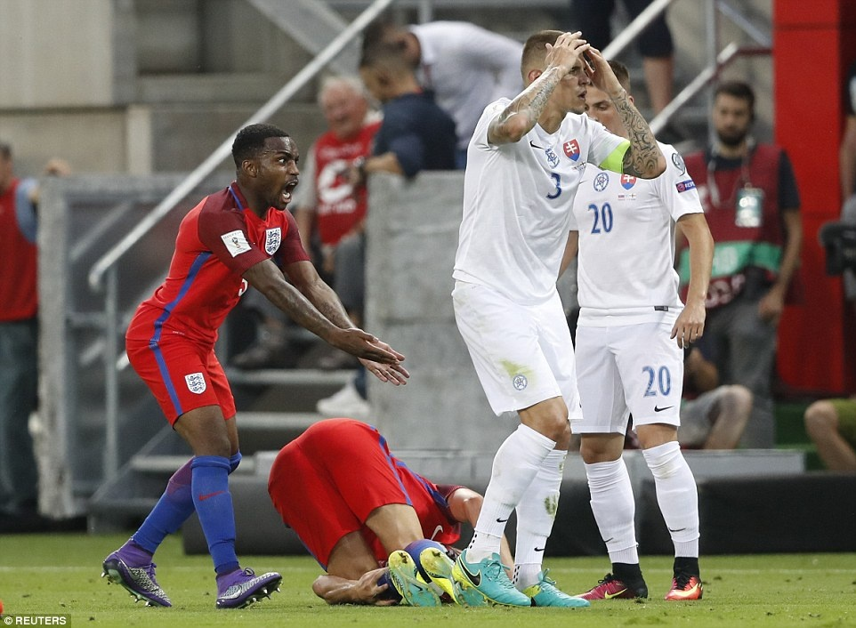 DT Anh thang Slovakia 1-0 anh 9