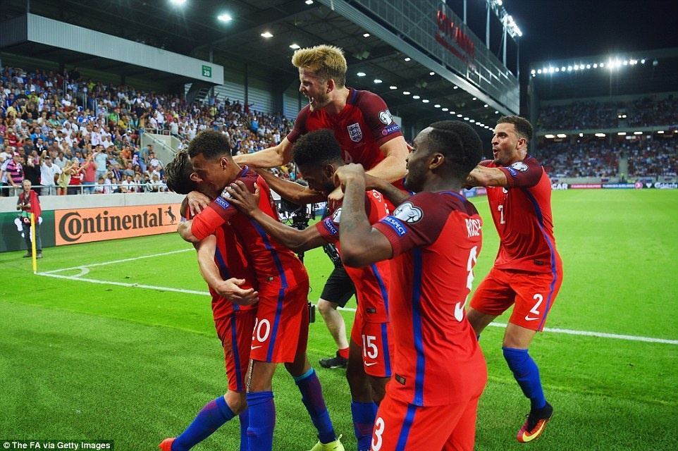 DT Anh thang Slovakia 1-0 anh 10
