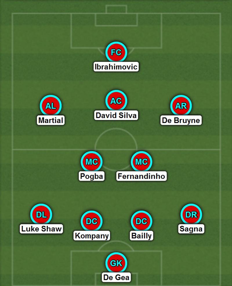 Rooney, Mata bi loai khoi doi hinh MU - Man City hinh anh 1