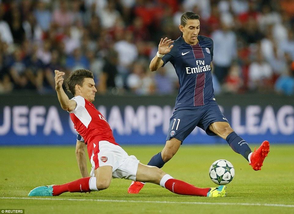Arsenal thoat thua truoc PSG trong tran co 2 the do hinh anh 3