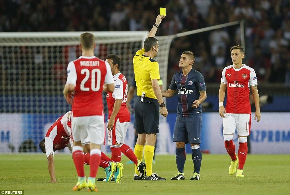 Arsenal thoat thua truoc PSG trong tran co 2 the do hinh anh 6